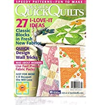 Mccall's Quick Quilts Magazine (27 I Love It ideas, April May 2012)