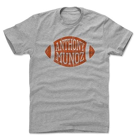 c9903b55 Amazon.com : 500 LEVEL Anthony Munoz Shirt - Vintage Cincinnati ...