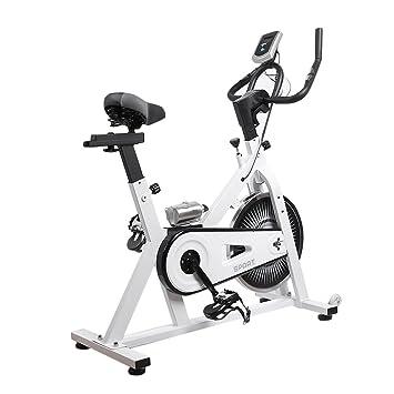 Homgrace Bicicleta Estática Spinning con Pulsómetro, Pantalla LCD ...