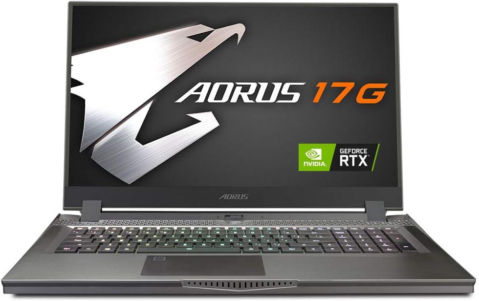 [2020] AORUS 17G (XB) Performance Gaming Laptop, 17.3-inch 240Hz IPS, GeForce RTX 2070 SUPER Max-Q, 10th Gen Intel i7-10875H, 16GB DDR4, 512GB NVMe SSD