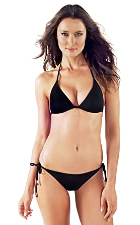 c1d06ec3a91f Amazon.com: Voda Swim Women's Envy Push up String Bikini Top: Clothing