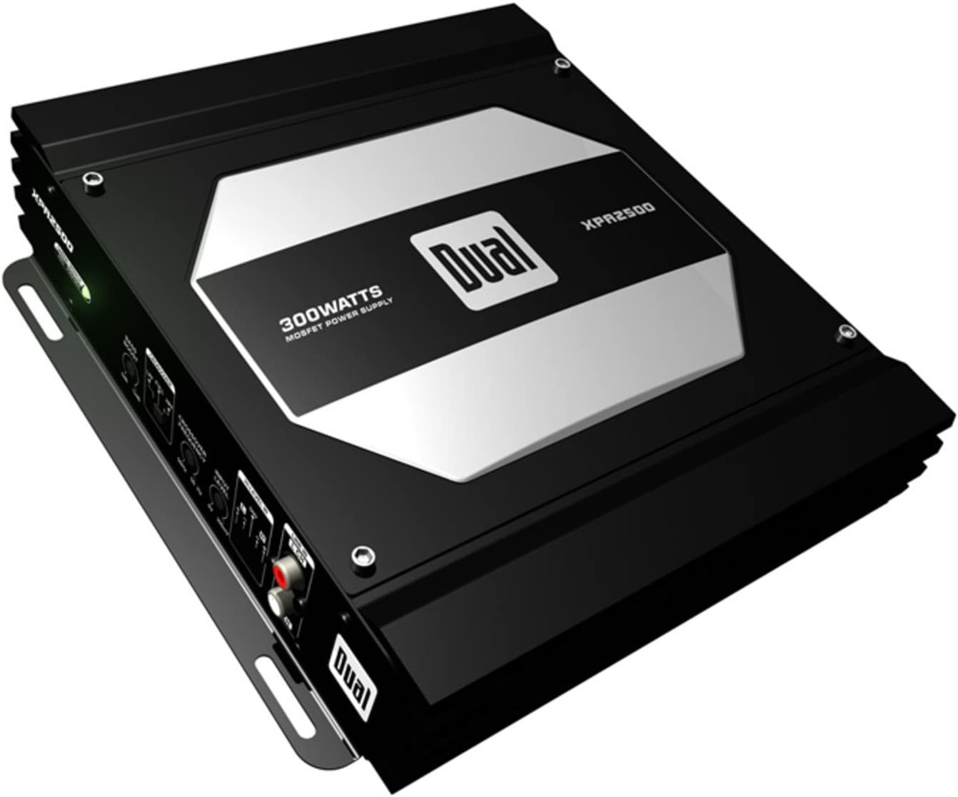 Dual Electronics XPA2500 2//1 High Performance Power MOSFET Class A//B Car Amplifier with 300-Watts Dynamic Peak Power