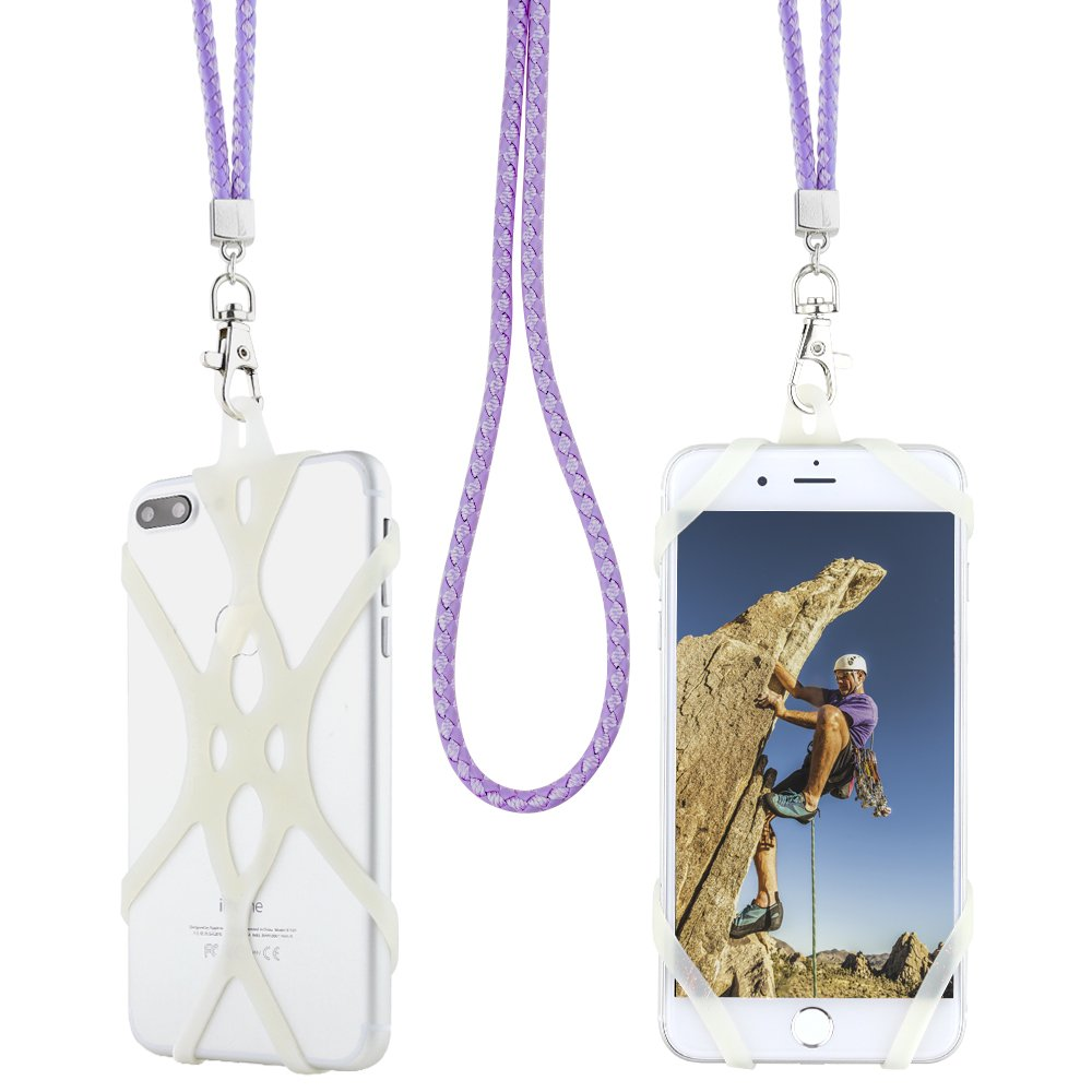 Cell Phone Lanyard Strap, Gear Beast Braid Fashion Universal Smartphone Case Cover Holder Lanyard Necklace Strap For iPhone X 8 7 6S 6 Plus Galaxy S8 Plus S7 S6 Edge Note 8 5 Jitterbug Smart and More