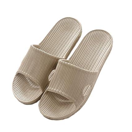 5c58c9ca93bc Amazon.com  Home Bathroom Slippers Summer Lovers New Indoor for Men and  Women Waterproof Sandals Wholesale Indoor Shoes  Sports   Outdoors