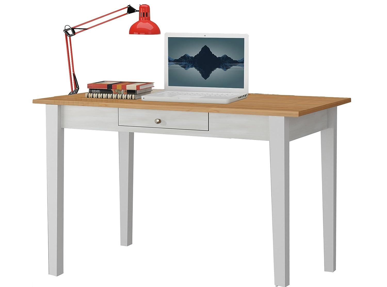 Loft24 Schreibtisch 100 Cm Bürotisch Schublade Computertisch Mit