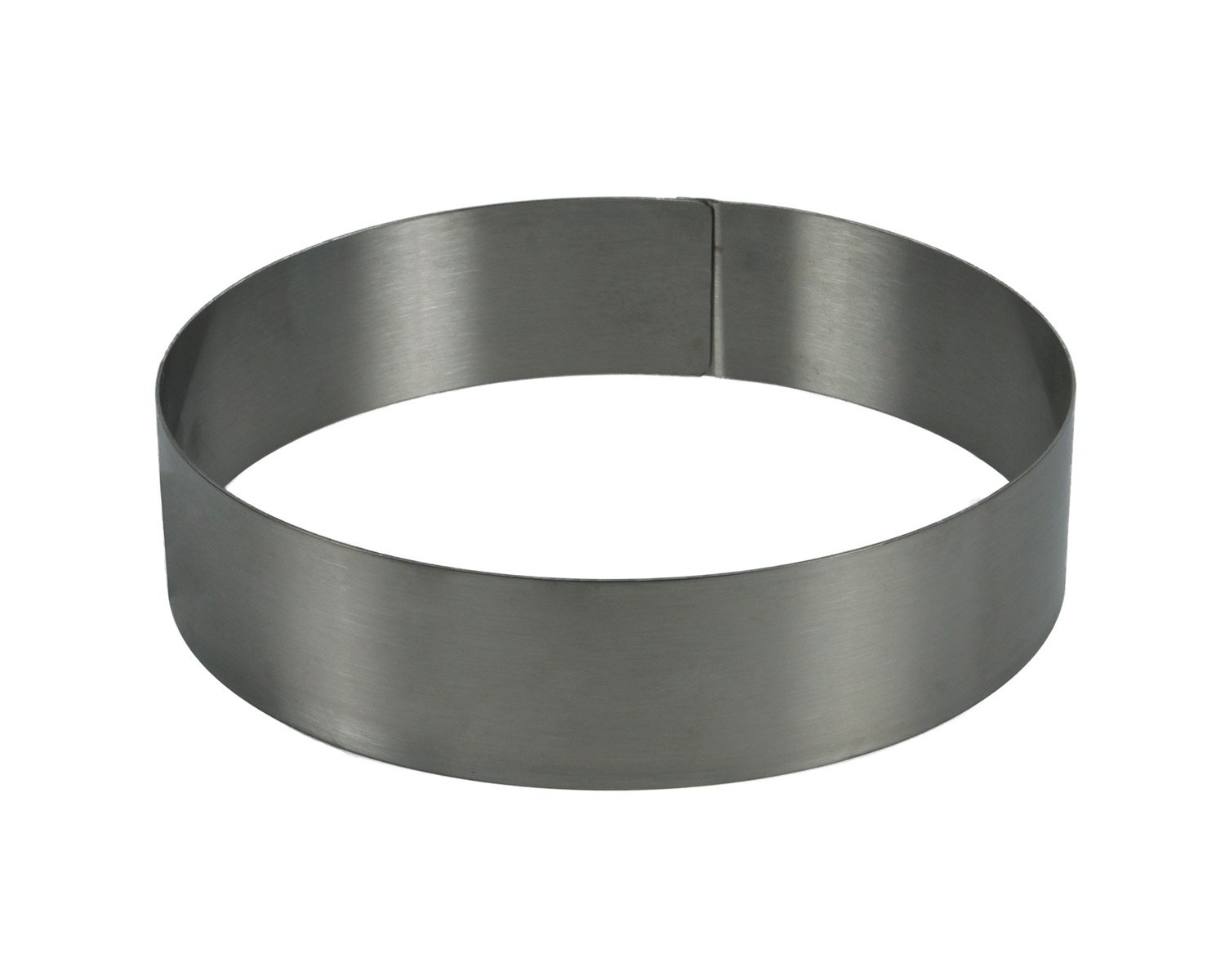 Cake Ring Stainless Steel, 3'' High - 14''