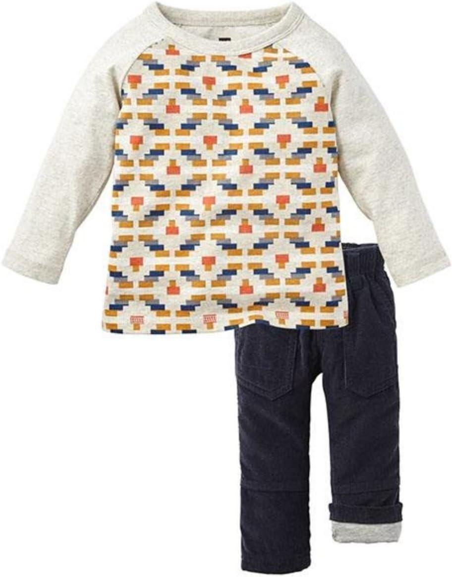 Tea Collection Baby Boys' Nahuel Set-Multicolor