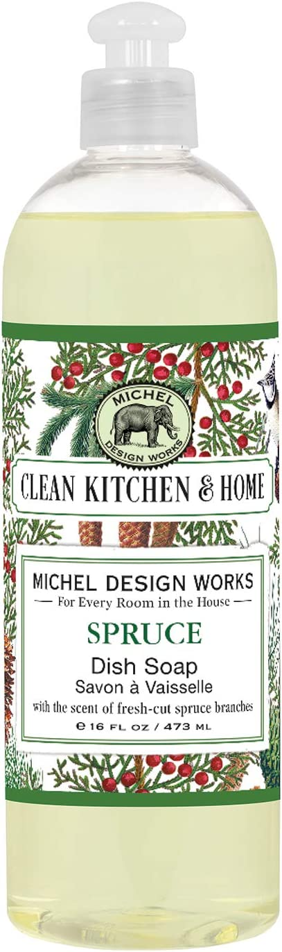 Michel Design Works Dish Soap, Spruce