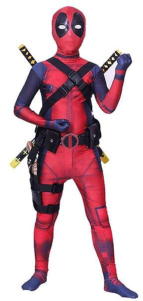 JerriyCostumes Zentai Halloween Unisex Lycra Spandex Cosplay Costumes Adult//Kids 3D Style