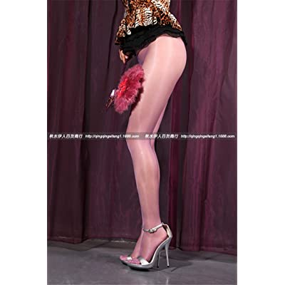XiaoGao_ un pantalon de minces transparents de toiles.