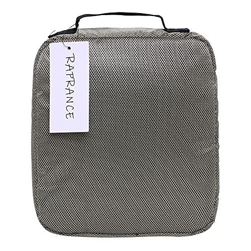 Raprance Fishing Soft Baits Binder Tackle Storage Bag for Plastics Lure Organization (Green)