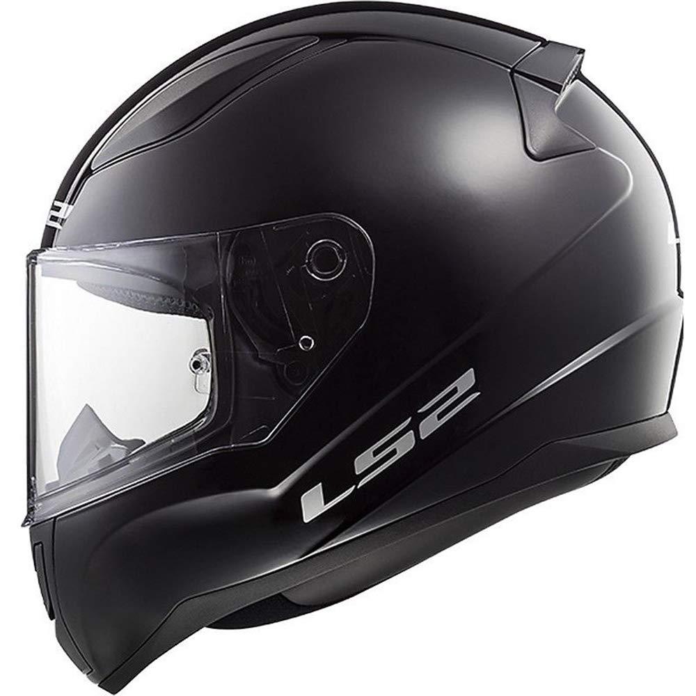 LS2 FF353 RAPID Single Mono Motorbike Motorcycle Full Face Helmet Matt Black Small