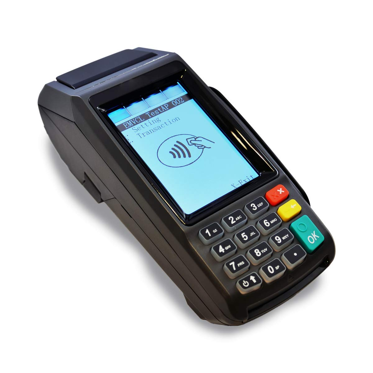 Dejavoo Z11 Tri-Comm EMV CTLS (IP Dial) WiFi Credit Card Terminal with Touch Screen by Dejavoo