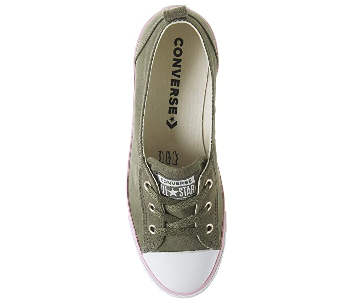 3554a1212acb Converse Women s Chuck Taylor Ballet Lace Low-Top Slippers  Amazon.co.uk   Shoes   Bags