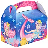 Mermaid Party Favor Treat Boxes - 12 ct