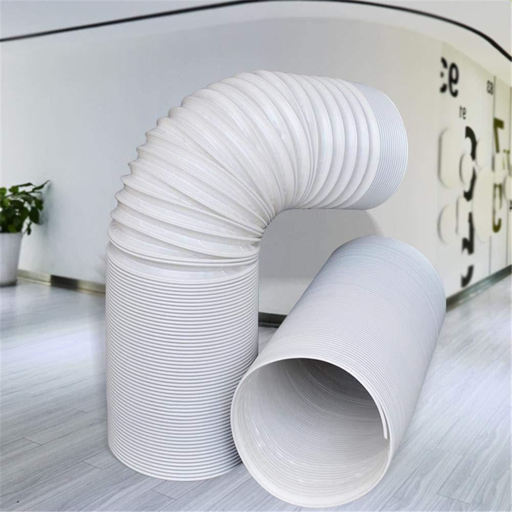 wei/ß zhichu985 Klimaanlage Schlauch Tragbare Klimaanlage Auspuff Schlauchverl/ängerung Universal geeignet f/ür Ersatz von AC Rohr 1.5米直径13cm
