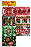 Easter egg decor''Pysanka'' Set of 7. Vyshyvanka 3