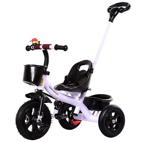 Triciclos- niños Carrito de bebé para niños pequeños ...