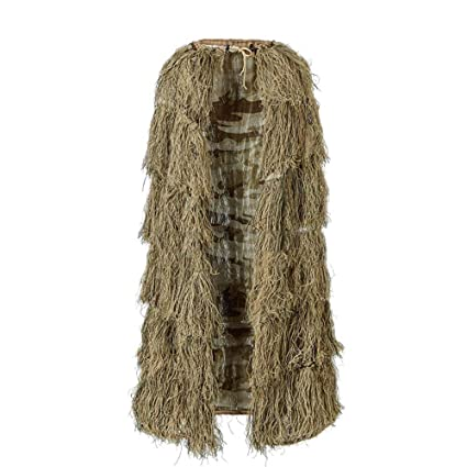 Amazon.com: WJ Geely Clothing, Ghillie Traje camuflaje ...