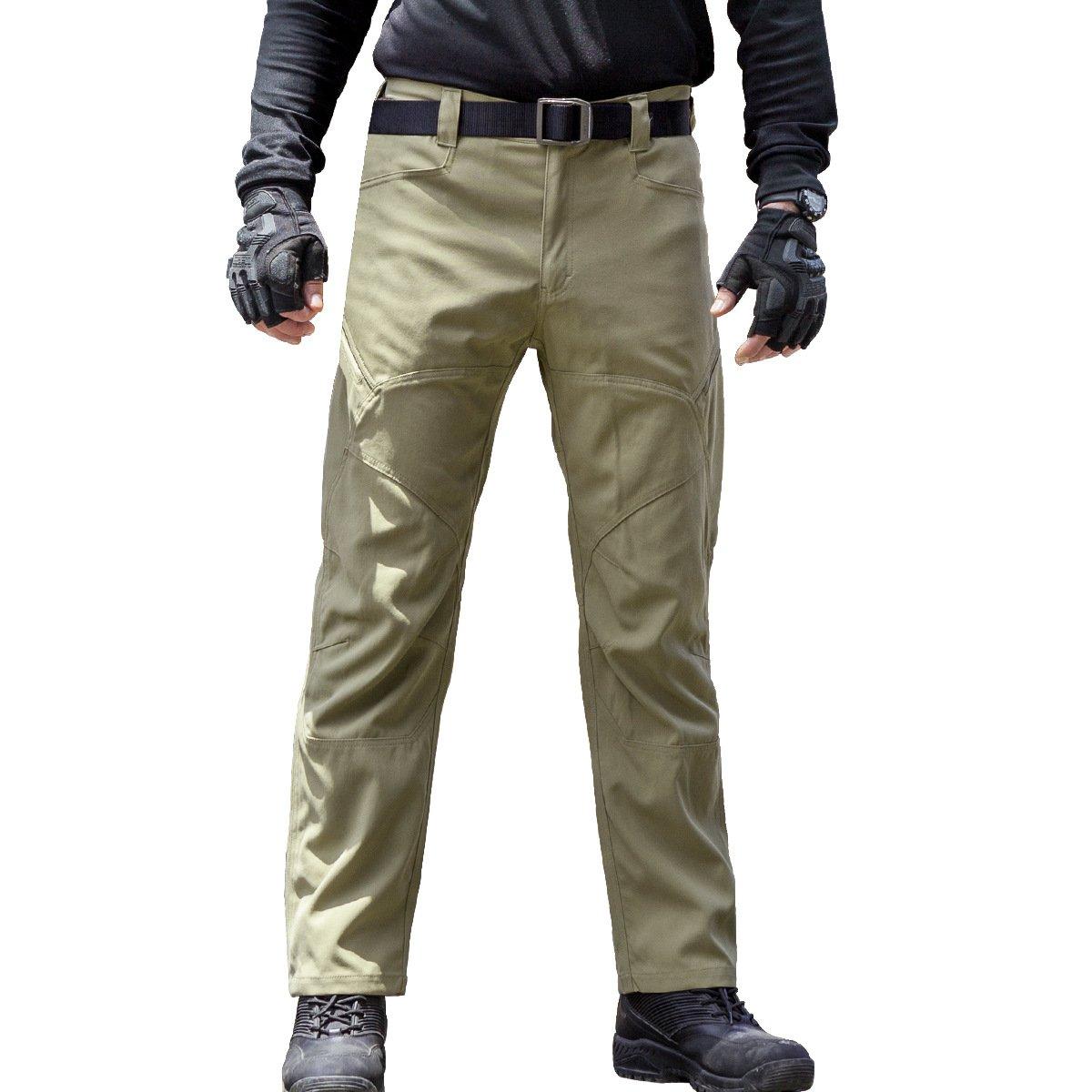FREE SOLDIER Arbeit Arbeit SOLDIER Cargo Hose  ndash  Herren Tactical  Outdoor Leicht Wasserabweisend Elastische Taille ... b6f190e45a