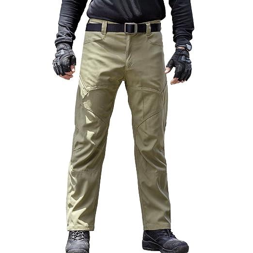 ef6dc642 Amazon.com : FREE SOLDIER Men's Tactical Pants Scratch-Resistant ...