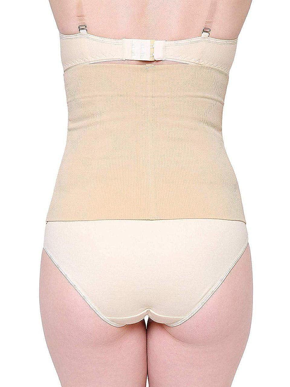b0e9b0ac65 Women Innerwear Tummy shapers Tummy Trimmer Biege Corset Belt for Women  Body Shapewear Look Slim instantly No Roll Down  Amazon.in  Clothing    Accessories