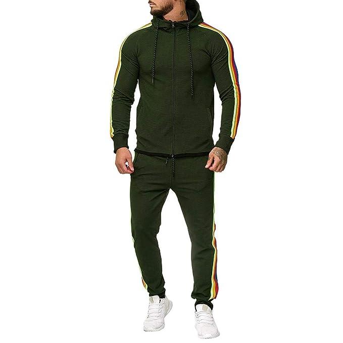Sportswear - Conjunto de chándal para Hombre, 2 Piezas, Deportivo ...