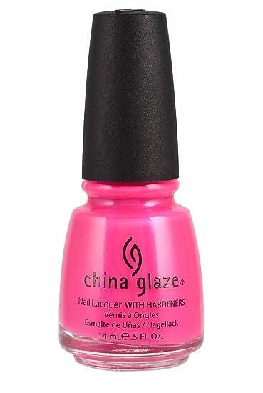 Amazon.com : China Glaze Nail Polish, Pink Voltage, 0.5 Ounce ...