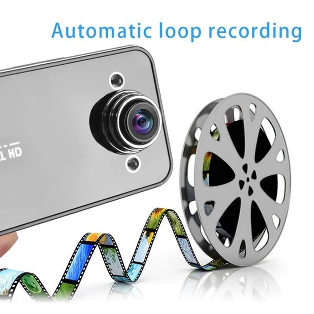 kaimus Vision Nocturne Grand Angle Super multifonctionnelle HD avec enregistreur K6000 Car vid/éo
