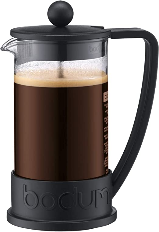 Bodum Cafetera émbolo, Negro, Centimeters: Amazon.es: Hogar