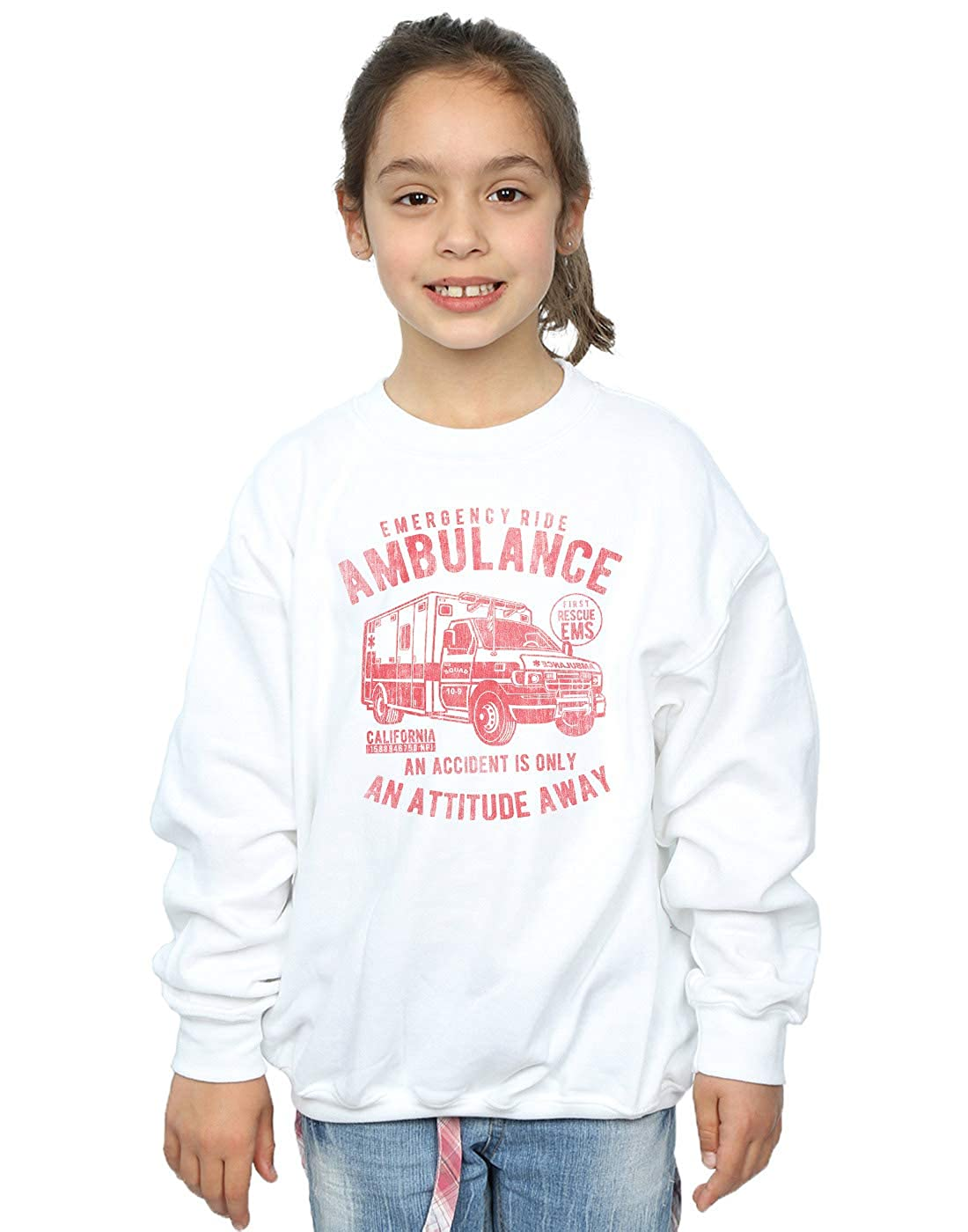 Drewbacca Girls Emergency Ride Sweatshirt