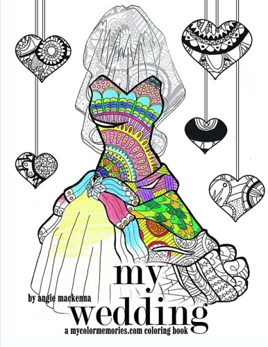 Amazon.com: My Wedding Coloring Book: Adult Coloring Book ...