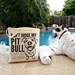 Don't Judge My Dog Tote Bag by Pet Studio Art 9