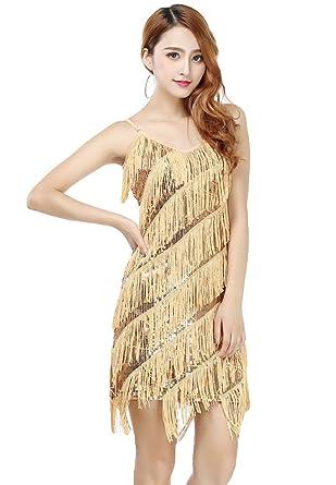 Kleid Salsa Niseng Turnierkleid Tanzkleid Latino Damen Lateinkleid ZqxR0
