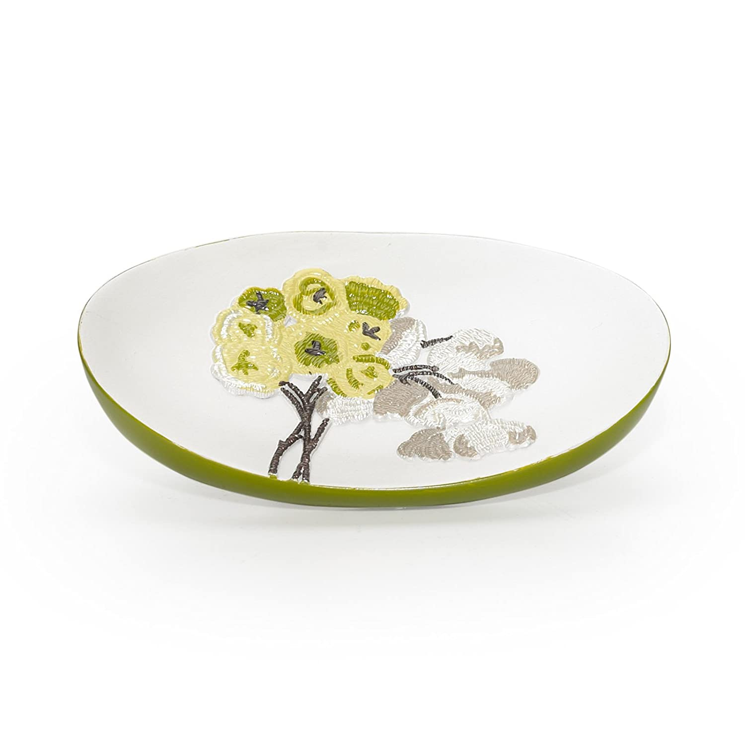 Popular Bath Soap Dish Lime Canteen Flower Collection