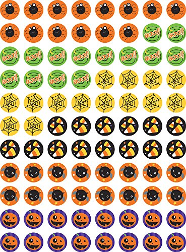 Halloween Hot Spots (Creative Teaching Press Halloween Hot Spots Stickers)