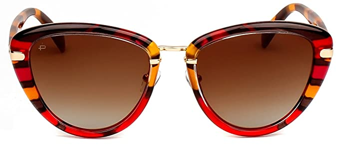 "0a9fdb665e2 PRIVÉ REVAUX ICON Collection ""The Monet"" Designer Polarized Cat-Eye  Sunglasses"
