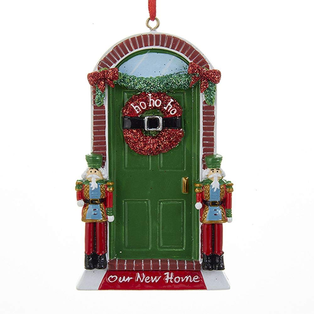 Kurt Adler Our New Home Christmas Ornament For Personalization