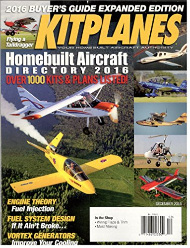 016 Buyer`s Guide (Kitplanes Magazine)