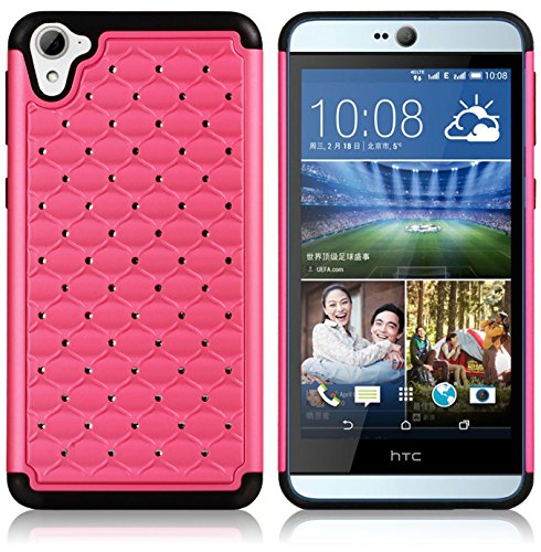 HTC Desire 826 Case, SPARIN® Ultra Slim and Lightweight Drop Protection and Scratch Resistant Smart Case for HTC Desire 826, Pink