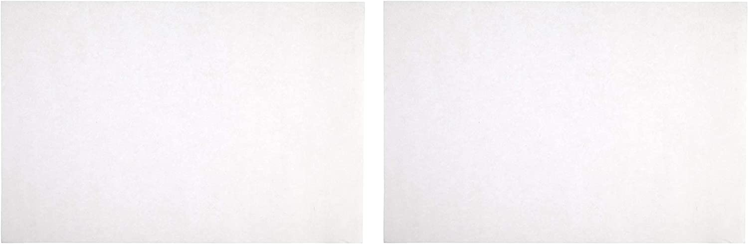 9 x 12 Inches 80 lb Sax Sulphite Drawing Paper 2 Sets Pack of 500-053943 Extra-White