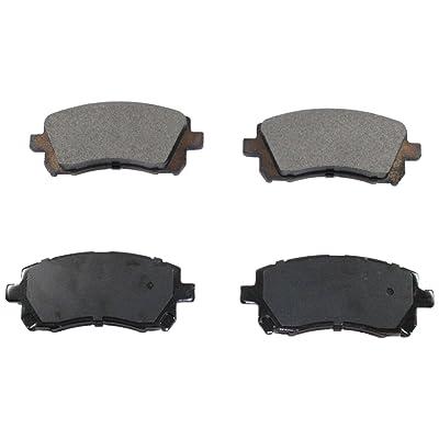 DuraGo BP721 MS Front Semi-Metallic Brake Pad
