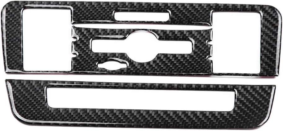 fibre de carbone CD Climatisation Panneau de configuration couverture Compatible avec Mercedes-Benz Classe B Classe CLA GLA CD Climatisation Couverture