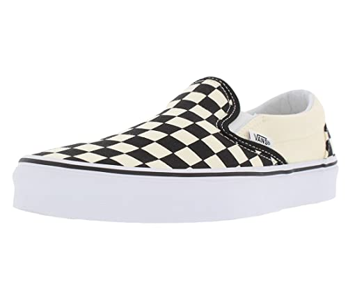 edea527d Vans Unisex Adults' Classic Slip-on Checkerboard Trainers: Amazon.co ...