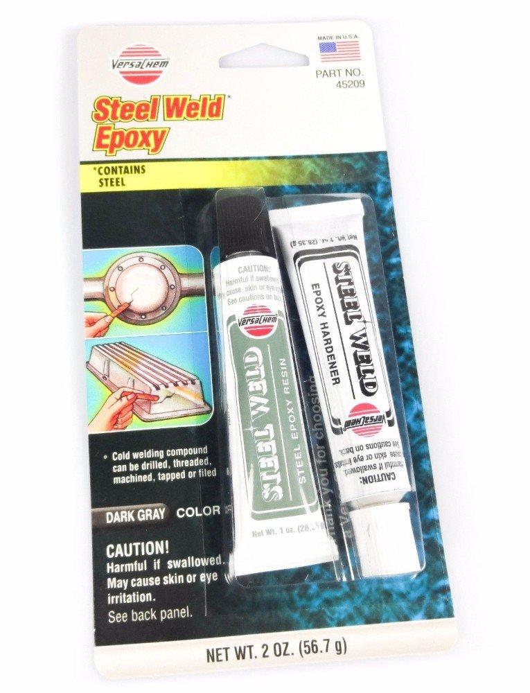 2oz Steel Weld Epoxy Cold Welding Adhesive Auto Repair Metal Bonding