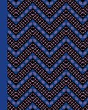 Journal: African Pattern (Blue) 8x10 - GRAPH JOURNAL - Journal with graph paper pages, square grid pattern (8x10 Patterns and Designs Graph Journal Series)