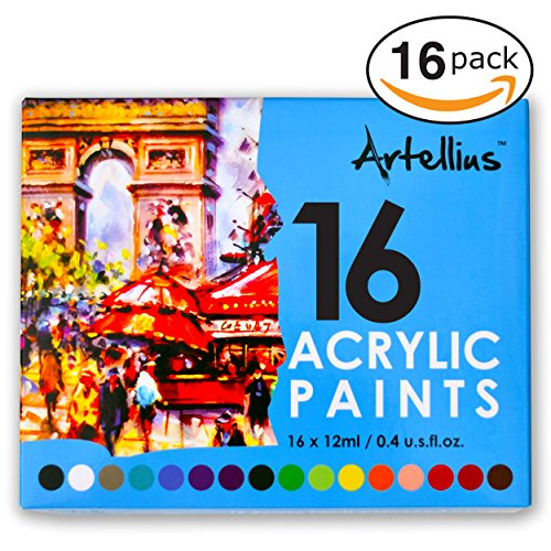 Artellius Acrylic Paint INDIVIDUAL COLORS
