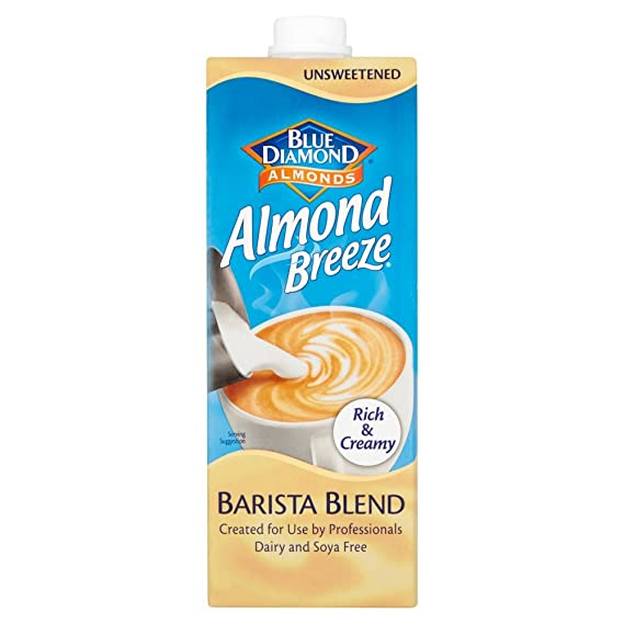 Blue Diamond | Almond Breeze - Barista Blend | 8 x 1l