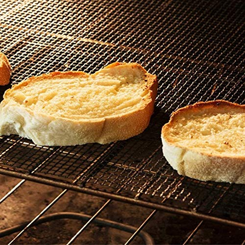 Lovelysunshiny BBQ Mesh Grill Mat Non Stick Barbecue Cooking Mesh Mats PTFE Baking Sheet Pad by Lovelysunshiny (Image #3)