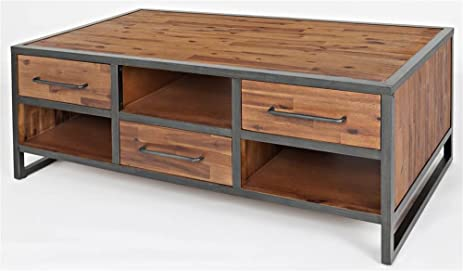 Jofran 1660 1 Studio 16 Drawer Cocktail Table 48quotW X